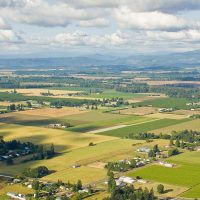 Farmland in Willamette Valley (1)